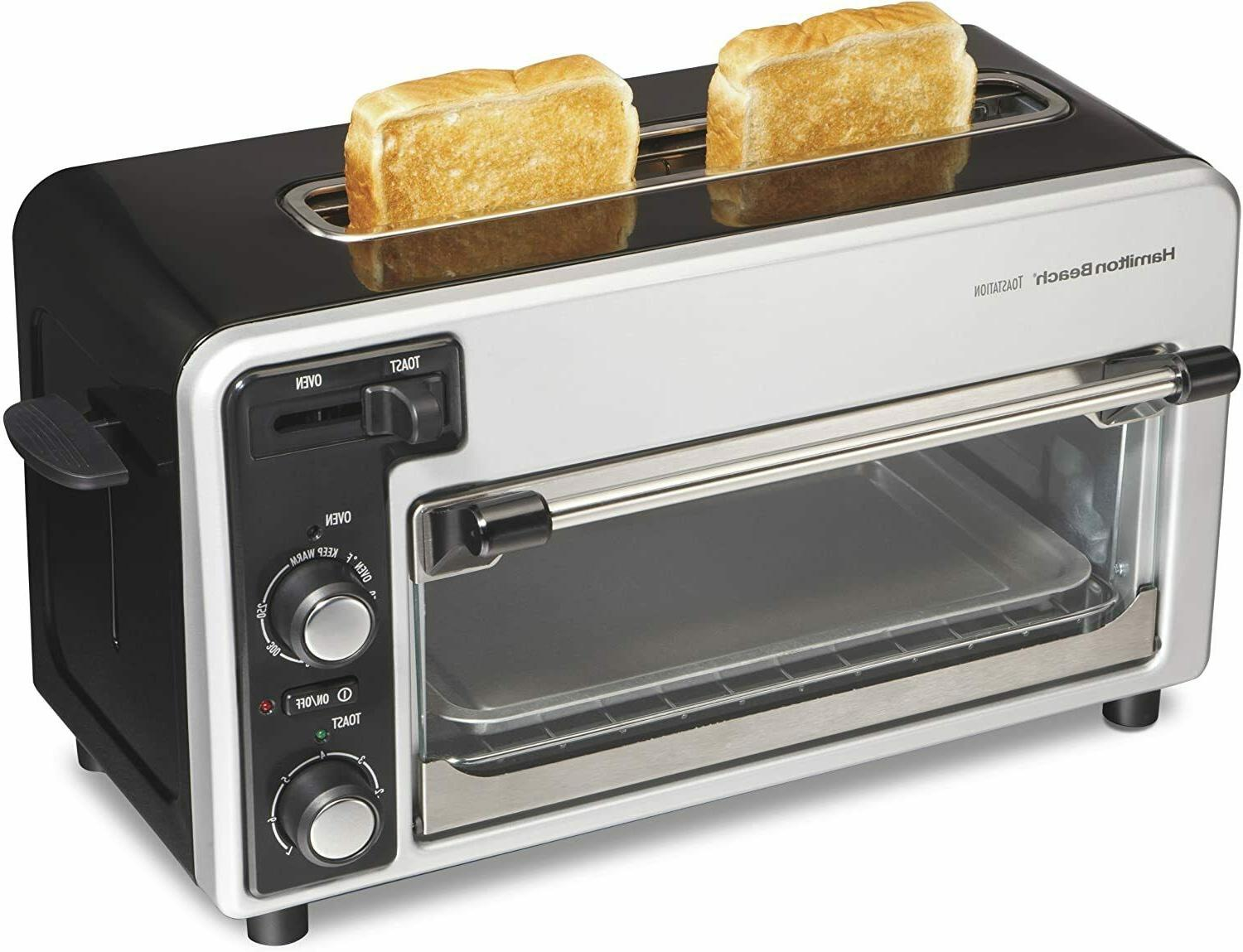 hb two slice toaster blk