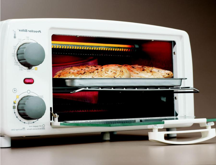 large countertop 4 slice toaster oven broiler