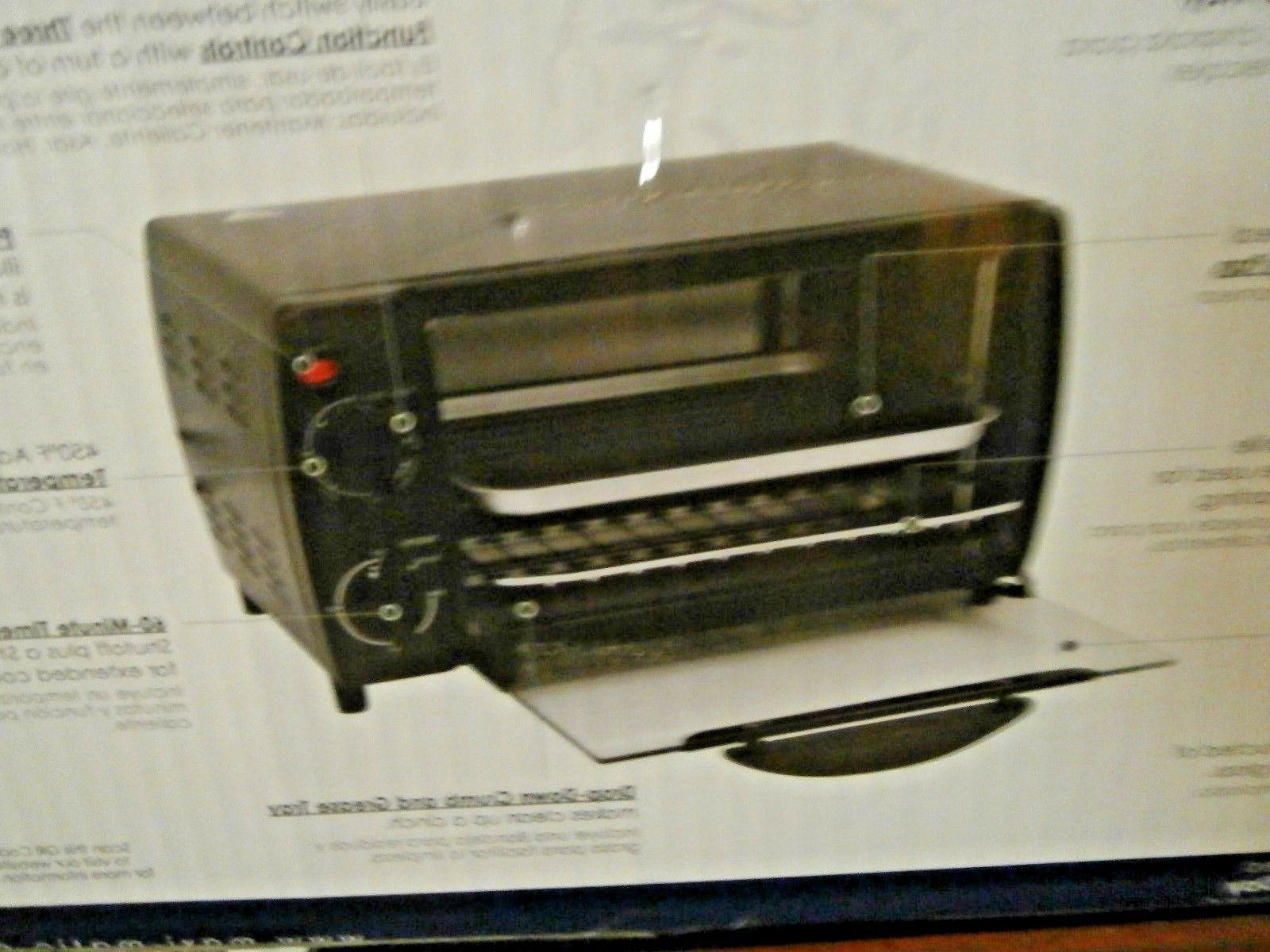 maxi matic toaster oven broiler 4 slice