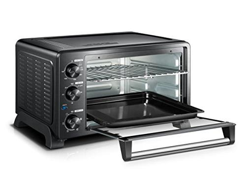 Toshiba MC25CEY-BS Mechanical with Convection/Toast/Bake/Broil 25 L Pizza