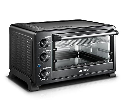 Toshiba MC25CEY-BS Mechanical oven with Convection/Toast/Bake/Broil L Slices Pizza