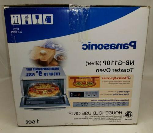 Panasonic NB-G110P Programmable Toaster Oven - Silver