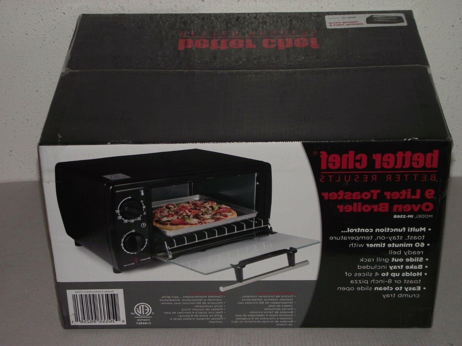 new 9 liter toaster oven broiler counter