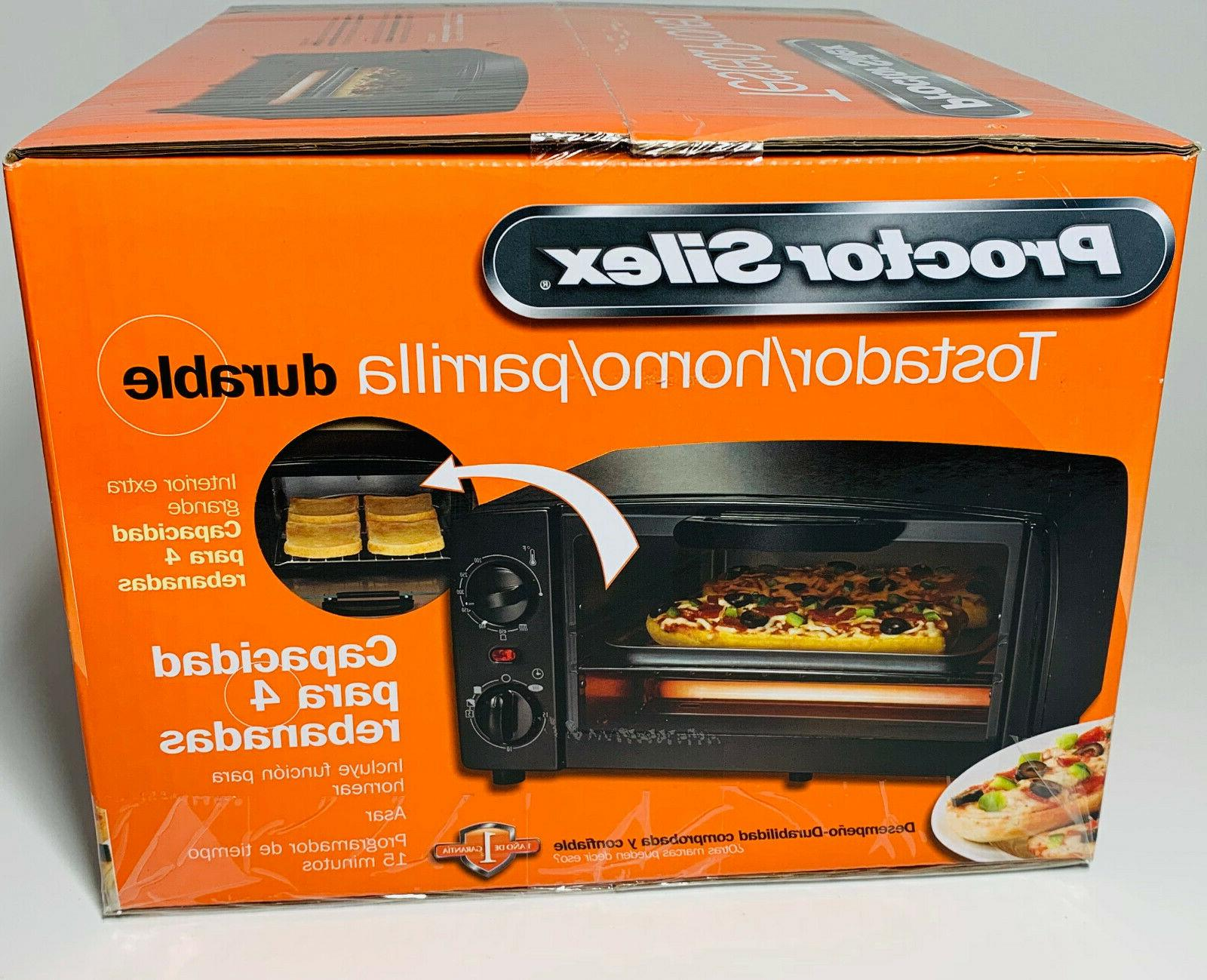 NIB Silex Toaster Oven Brand Sealed in Box