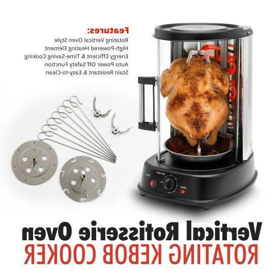 Nutri-Chef Vertical Oven Kebob Cooker