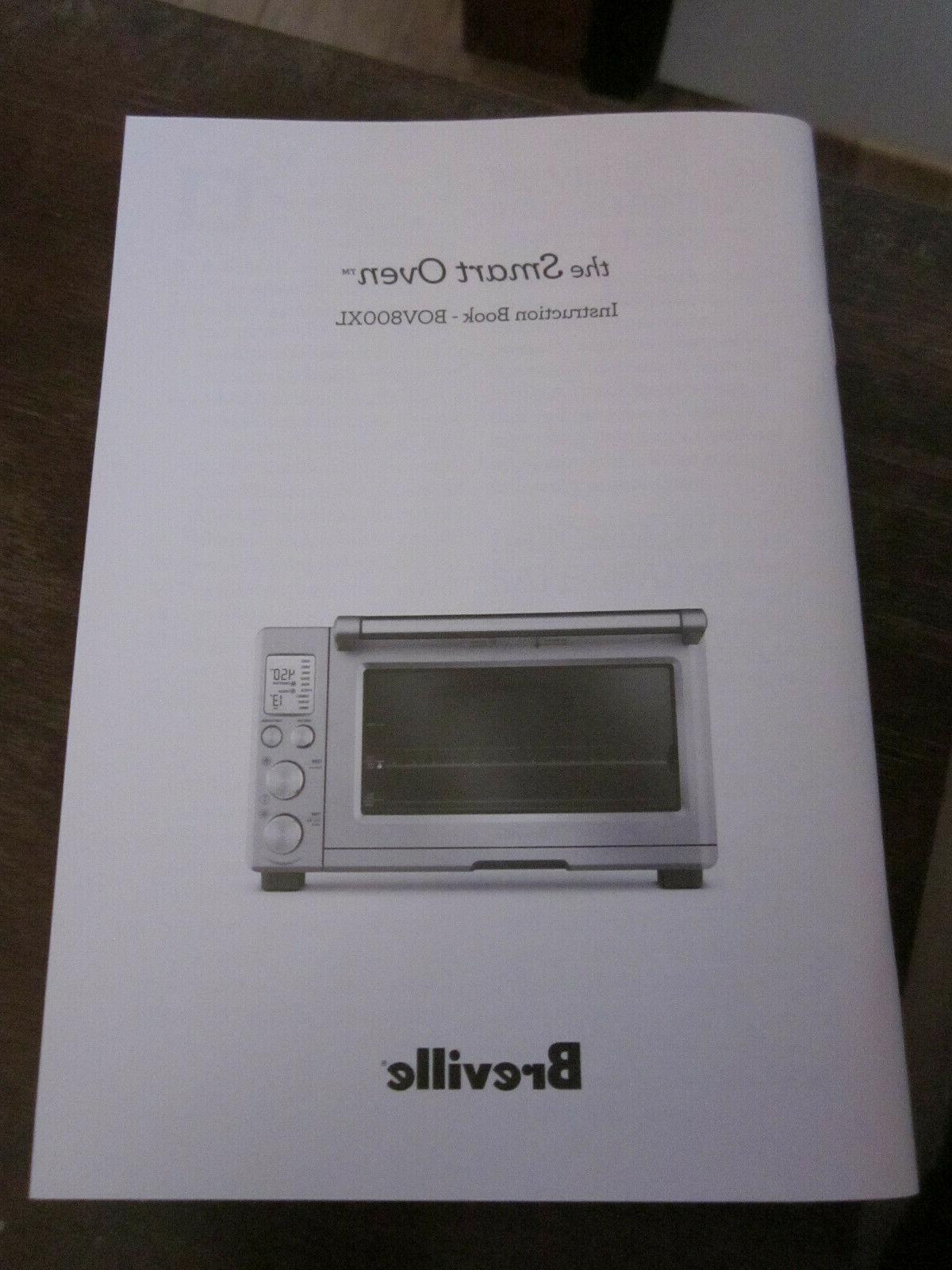 owners instruction manual brand new for bov