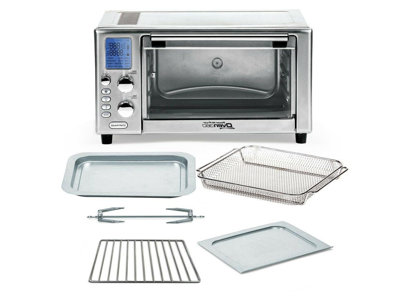Power Air Toaster 360 Seen warranty new