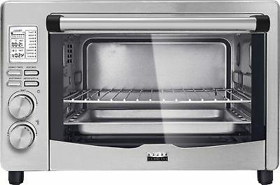 pro series 6 slice toaster oven stainless
