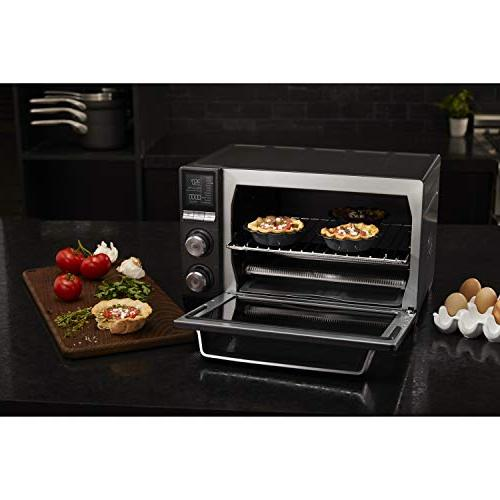 Calphalon Toaster Oven, Dark Steel