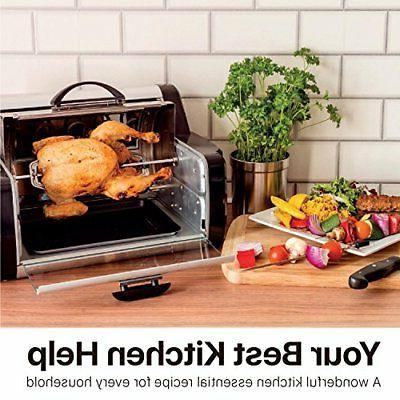 rotisserie toaster oven grill countertop kebab electric