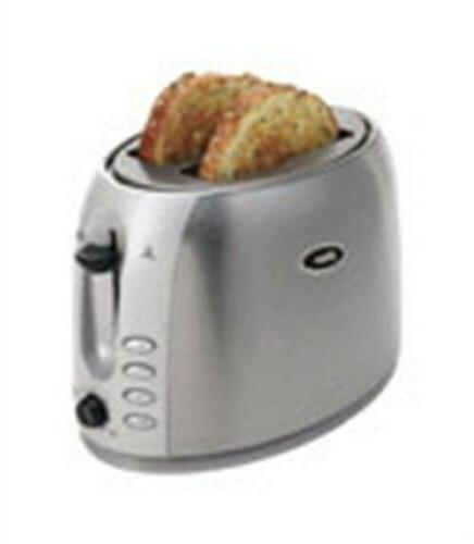 series toaster 2 slice stainless