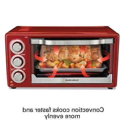 Small Countertop Convection Oven Rotisserie Baking Kitchen A