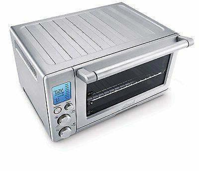 Breville The Smart Six Slice Toaster Oven 0.80 Capacity 1800 - Bake, Toast, Broil, Keep Warm, Defrost