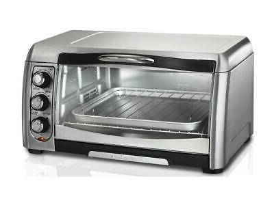stainless steel convection 6 slice toaster oven