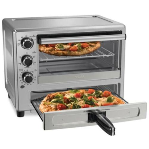 OSTER Steel Convection Oven with Dedicated Drawer