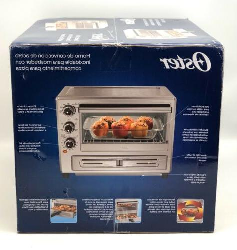 OSTER Steel Oven with Drawer