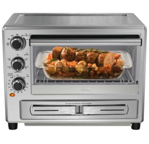 OSTER Convection Oven with Dedicated Drawer TSSTTVPZDS