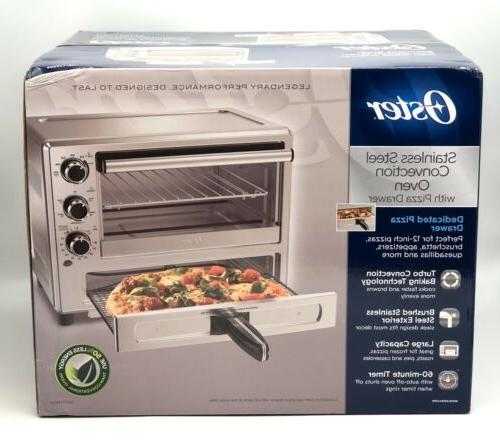 stainless steel convection oven with dedicated pizza