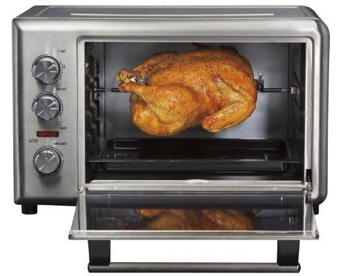 Hamilton Steel Countertop with and Rotisserie