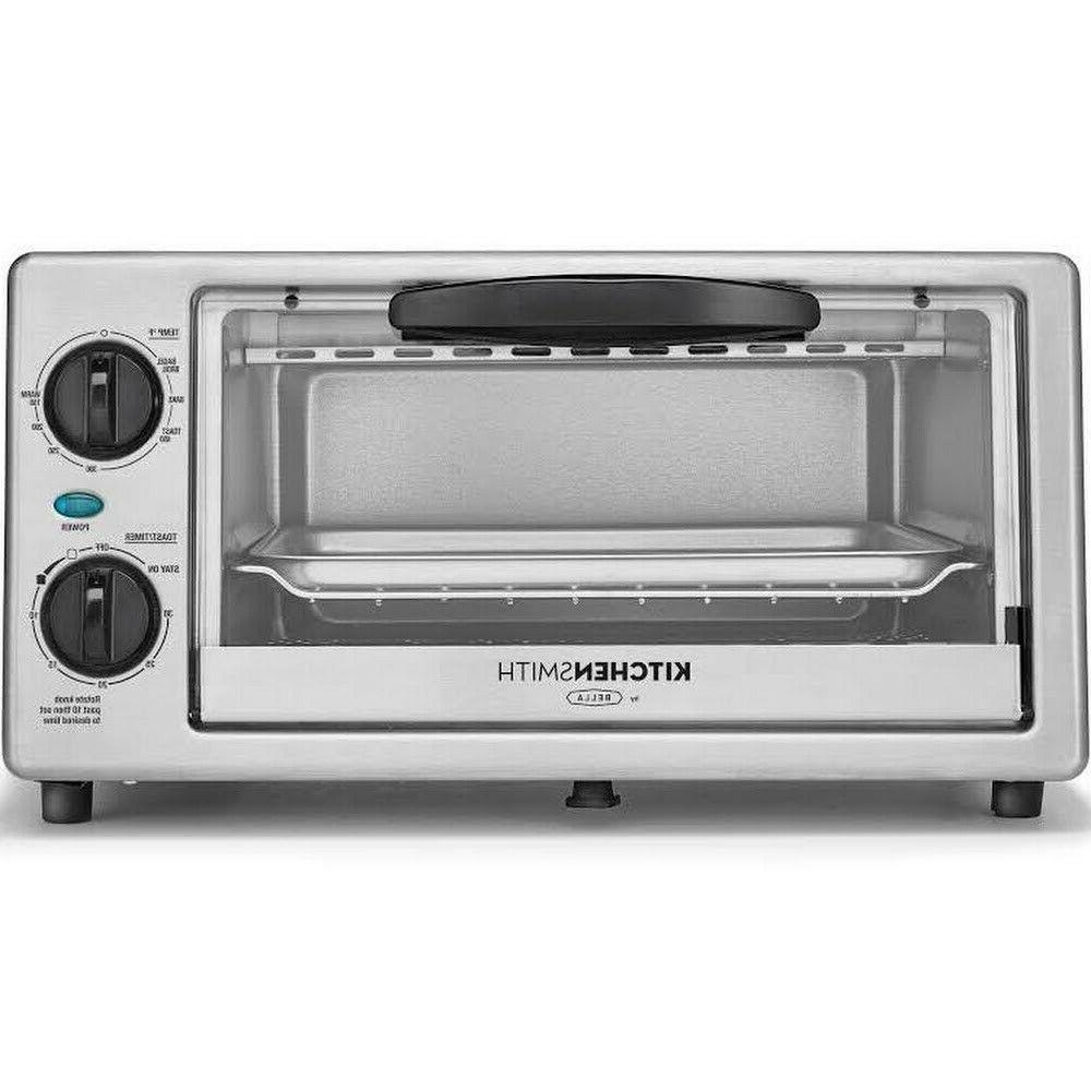 Stainless Steel KitchenSmith Toaster Oven Silver fast shippi