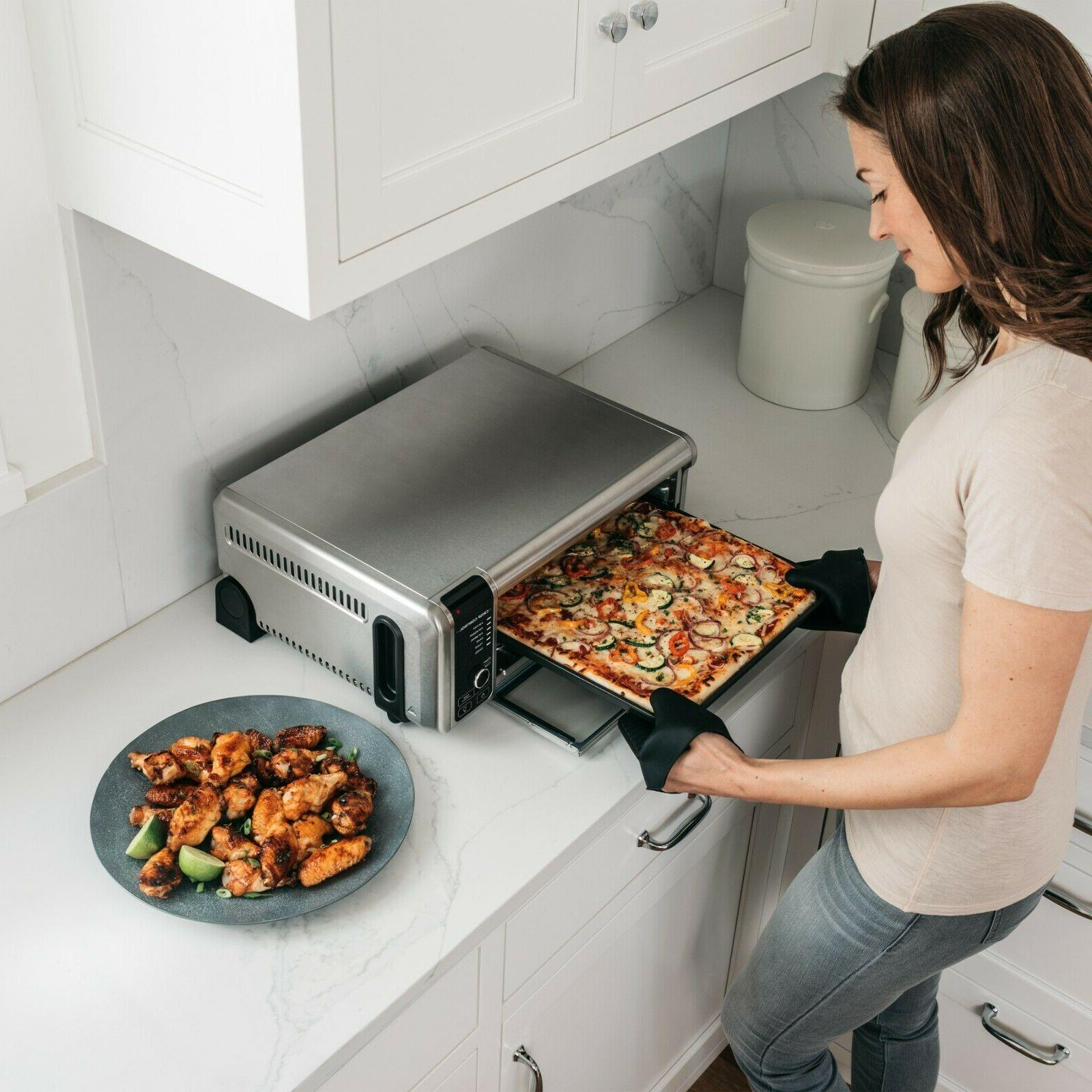 The Ninja Air Fry Convection Flip-Up to Store