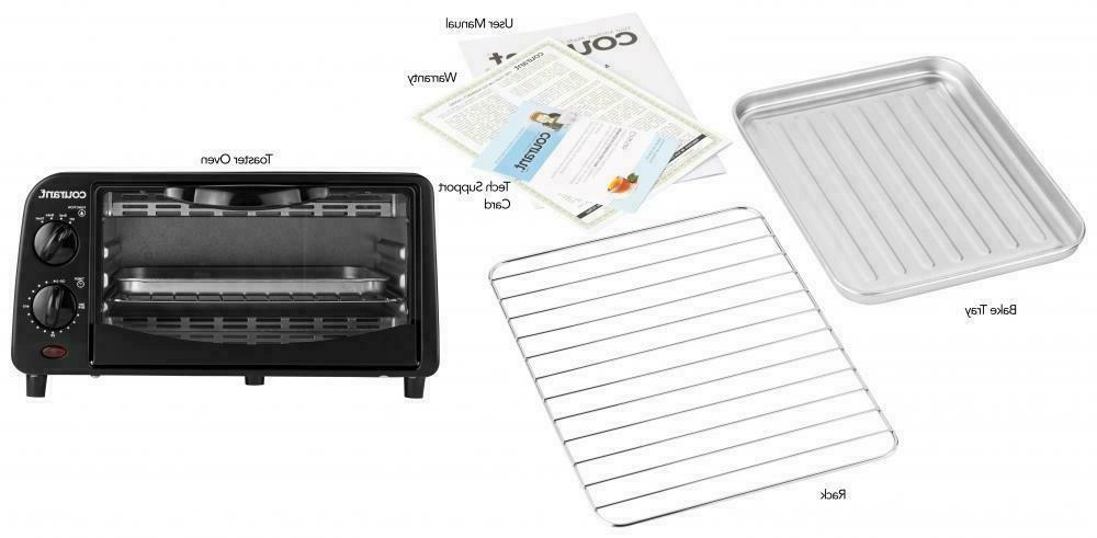 Courant Toaster - Black