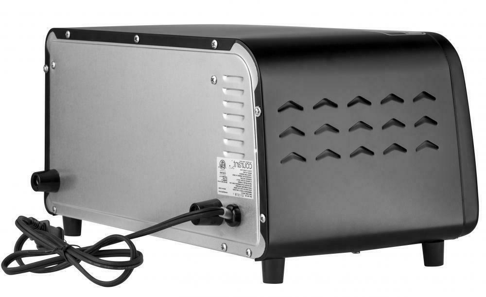 Courant TO942K 4-Slice Toaster Oven Black