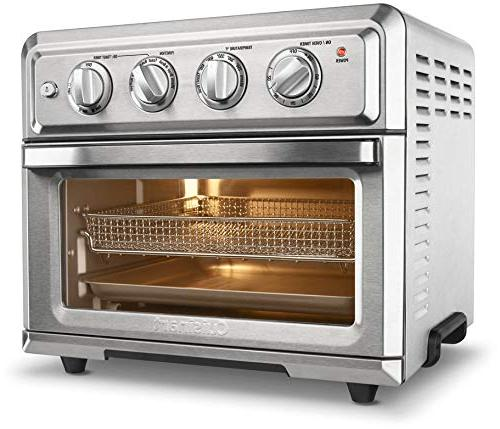 Cuisinart Toa 60 Air Fryer Toaster Oven Silver