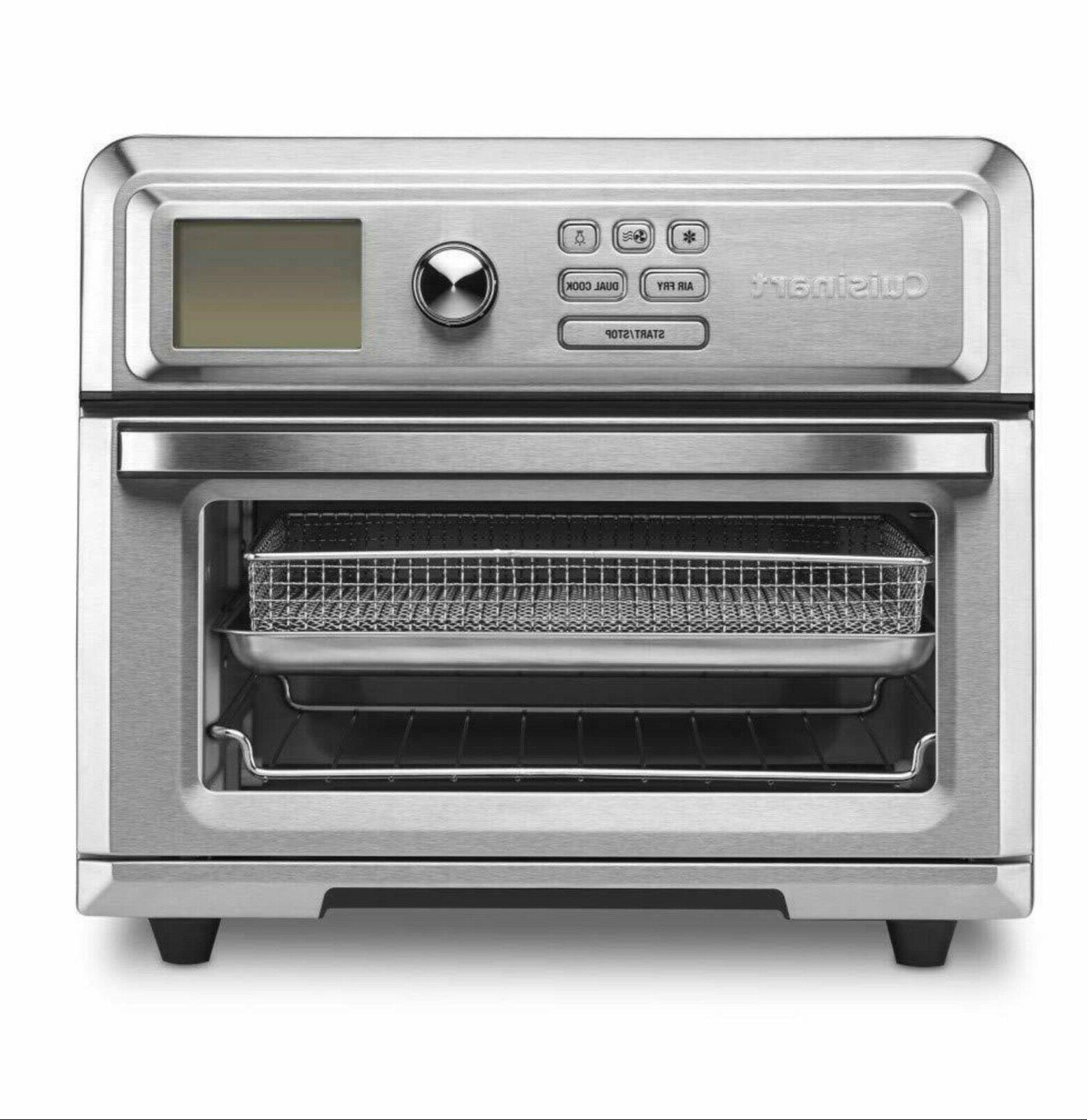 toa 65 digital airfryer toaster oven silver