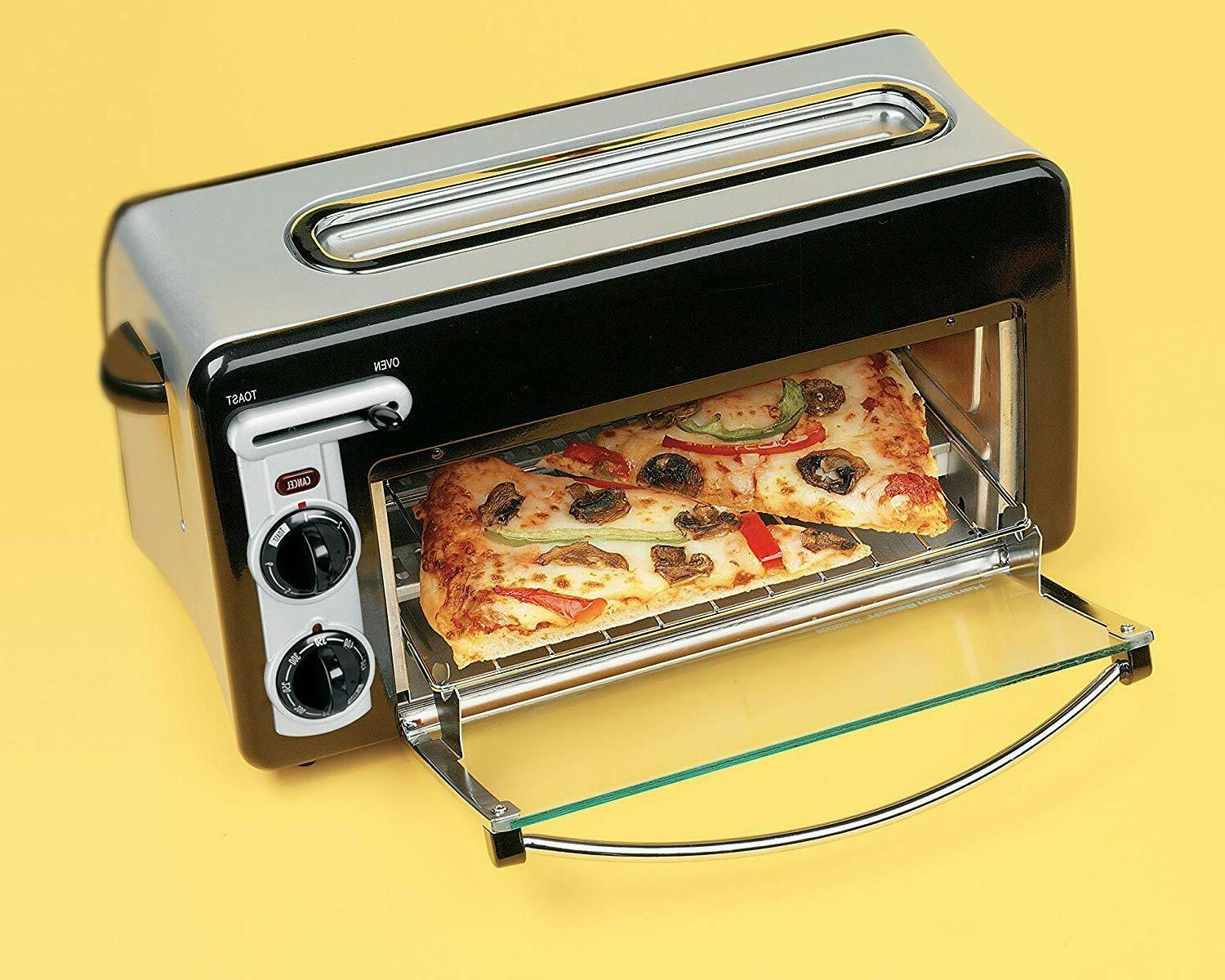 toastation 2 slice toaster and countertop oven