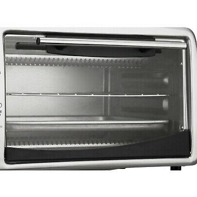 Brentwood Toaster Oven 0.30 ft� Toast, Broil - Black