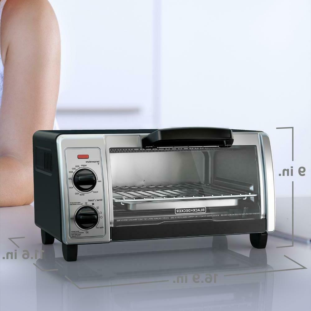 Toaster Stainless Steel Control