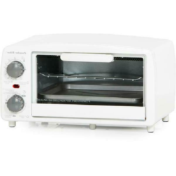 Proctor Toaster and Broiler White Two Kitchen