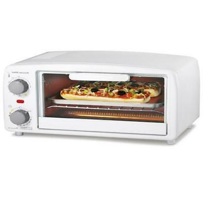 4 Slice Toaster Electric Oven Extra-Large Home Office Cookin