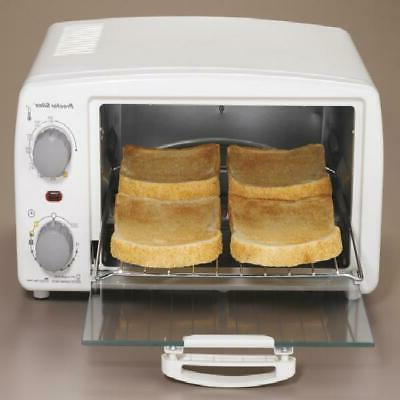 Toaster Oven Down Crumb Automatic Shut