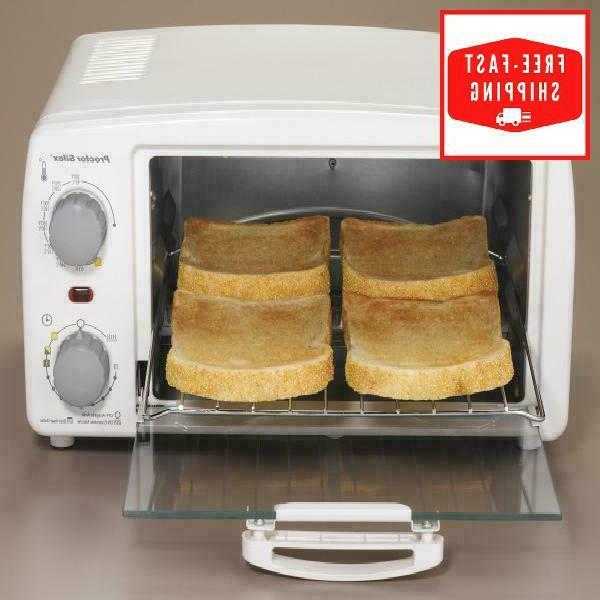 Toaster Oven Slice Pizza-Toast Cook