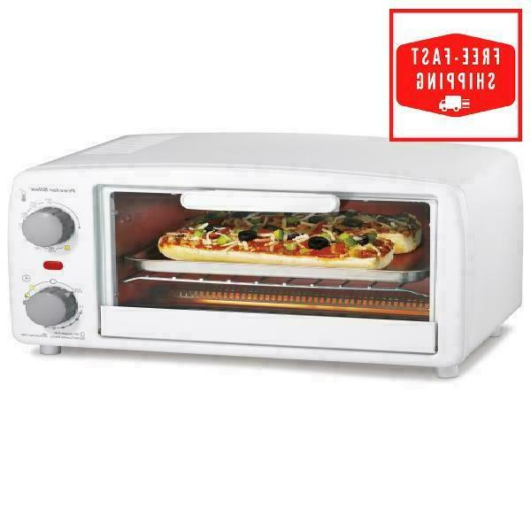 toaster oven convection 4 slice countertop broiler