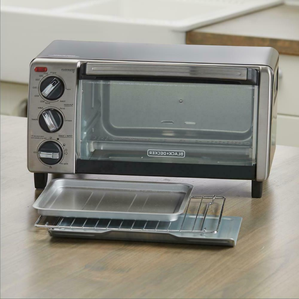 4-Slice Convection Toaster 1150W with 30