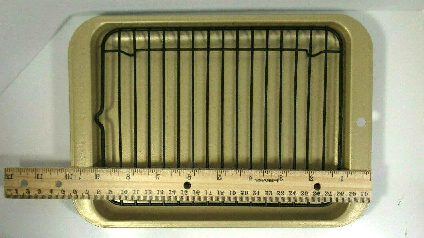 toaster oven grill pan new 10 x