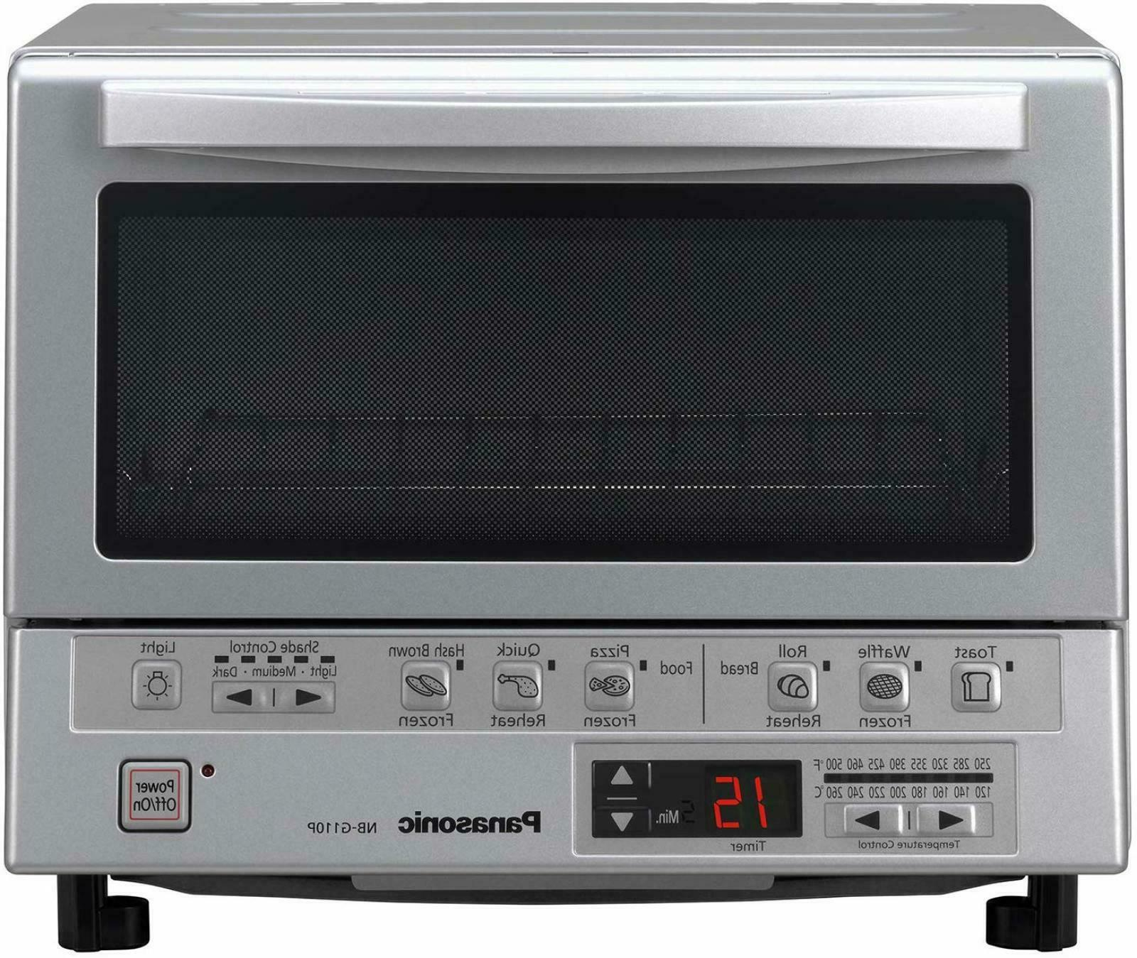 Panasonic Toaster Oven NB-G110P FlashXpress with Double Infr