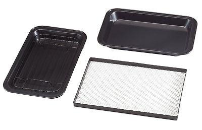 toaster oven roasting pans set of 3