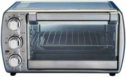 OSTER TSSTTVCG05 Countertop Oven with Convection, Stainless