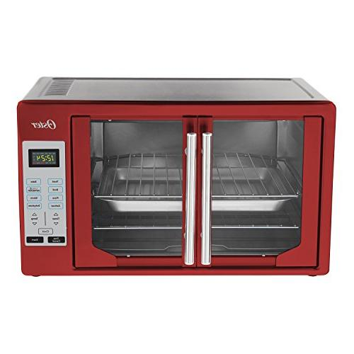 Oster TSSTTVFDDG-R French Door Toaster Red