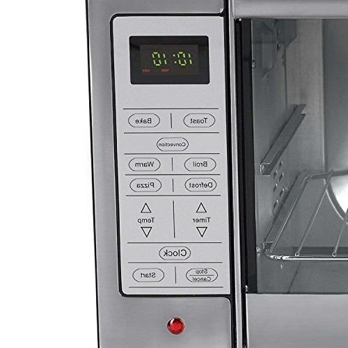Oster Digital Oven, Stainless