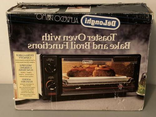 vintage brand new delonghi primo toaster oven