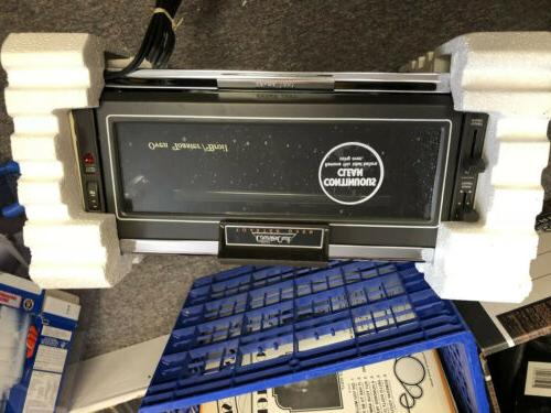 vintage toaster oven model 22201 a very