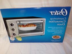 OSTER LARGE CAPACITY COUNTERTOP CONVECTION TOASTER OVEN TSST