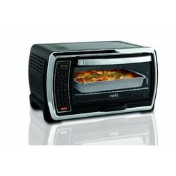 Oster Large Digital Countertop Oven - Black/Chrome