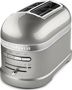 KitchenAid Pro Line Series Sugar Pearl Silver 2-Slice Automa