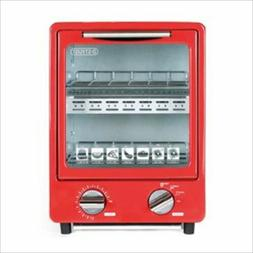 LITHON D-Stylist Vertical Oven Toaster Red KK-00368RD Home A
